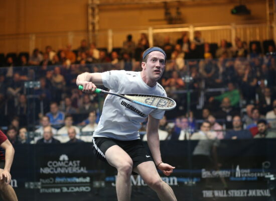 US No.1 Squash Player Todd Harrity