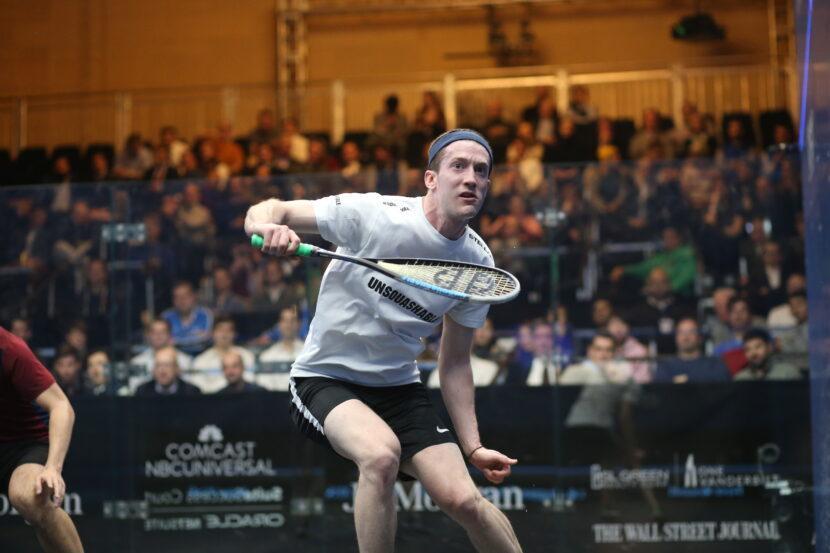 US No.1 Squash Player Todd Harrity